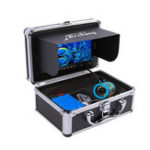 New Erchang 7inch LCD Screen 1000TVL Underwater HD Camera 24LEDs Lamp Visible Fish Finder 15M