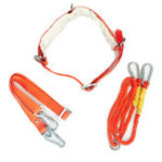 New W-Y Type Orange Aerial Work Rope Full Body Climbing Rope Belt Security Outdoor Mountaineering Belts Protection Accessories