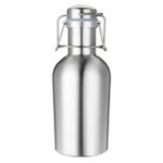 New 1L Single Layer Stainless Steel B eer W-ine Beverage Pot Bottles Barrel B-eer Pot