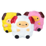 New Squishy Sheep Lamb 12CM Jumbo Soft Slow Rising Collection Christmas Gift Toys