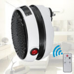 New 900W Handy Warm Air Blower Wall-Outlet Space Round Shape Household Digital Electric Heater