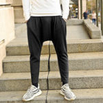 New Men Casual Elastic Waist Harem Pants