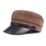 New Unisex Winter Vintage Stripes Navy Hat Classic Thicken Caps