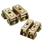 New 4pcs Adjustable Magnetic V-Pads Brass Strong Hand Tools MVDF44 For Butt Welding