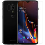 New NILLKIN Anti-explosion Clear Tempered Glass Screen Protector + Lens Protective Film for OnePlus 6T