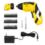 New Baban LED Light Electric Screwdriver 2000mAh Li-Ion Rechargeable Cordless Screw Driver Tool with 30 Bits