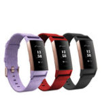 New Bakeey Canvas Nylon Denim Replacement Watch Band Strap for Sport Smart Watch Fitbit Charge 3