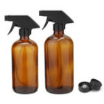 New 250/500ML Amber Glass Spray Bottles Sprayer Trigger