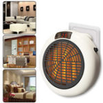 New Portable 900W Mini Electric Wall Outlet Space Instantly Heating Warm Heater