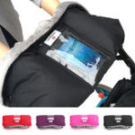 New Baby Stroller Pushchair Glove With Touch Screen Phone Pocket Waterproof
