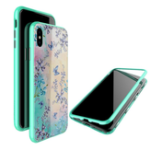 New Nillkin Magnetic Adsorption Tempered Glass PC Protective Case For iPhone XS Max