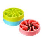 New Pet Dog Puppy Large Slow Down Eating Feeding Bowl Anti Choke Dish Food Feeder