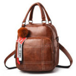 New Women Multi-function Crossbody Bag Vintage Leisure Backpack