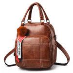 New Women Multi-function Crossbody Bag Vintage Leisure Backpack