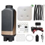 New HCalory 12V 5KW LCD Diesel Heater Diesel Parking Heater Diesel Air Parking Heater
