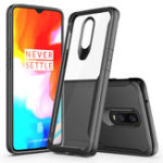 New Bakeey™ Shockproof Transparent Hard Acrylic Back Cover Protective Case for OnePlus 6T
