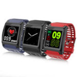 New XANES® Z01 1.3″ OLED Touch Screen IP67 Waterproof Smart Watch Heart Rate Monitor Fitness Exercise Sports Bracelet