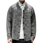 New Mens Casual Vintage Knit Loose Breathable Cardigans