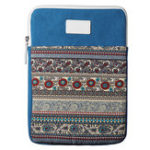 New Vertical Tablet Case with Texture Design for 13.3 inch Tablet – Blue
