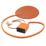 New 10 Inch Round Silicone Heater 120V Vacuum Chamber Pad with Digital Controller