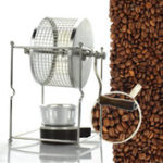 New 304 Stainless Steel Manual Coffee Bean Roasting Machine Roaster Roller Baker Kitchen Baking Tool