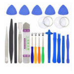 New 21 in 1 Repair Tools Set For Mobile Phone Disassemble Mini Screwdriver Bits Hand Tool Kit For Iphone X8 Plus For Samsung S9+