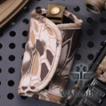 New Nylon Python Camouflage Key Case Waist Key Bag For Men