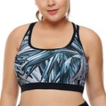 New 3XL Shockproof Padded Full Cup Coverage Yoga Bra