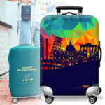 New Elastic Luggage Suitcase Cover 20/24/28/32 in Dustproof Protector Protective Bag