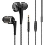 New QKZ KD10 Dual-Driver In-Ear 4-unit Wired Earphone Volume Control With Mic For Mobile Phone