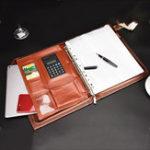 New Multi-function Folder Zipper Briefcase Portable File Holder