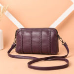 New Women Vintage Soft Faux Leather Crossbody Bag
