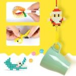 New Fuse Beads Refill Magic Sticky Water Beads Art Crafts Toys for Kids Beginners Jigsaw Puzzle Toy
