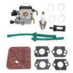 New Carburetor Carb Kit for STIHL FS38 FS45 FS46 FS55 KM55 FS85 Air Fuel Filter Gasket