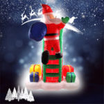 New 2.4M/94.49″ Inflatable Toys Xmas Christmas Yard Party Decoration Toys Father Christmas