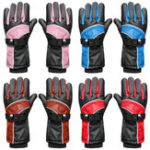 New 5200mAh Waterproof Motorcycle Electric Heated Gloves Battery Bike Warmer Outdoor