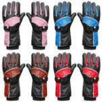 New 5200mAh Waterproof Motorcycle Electric Heated Gloves Battery Bike Warmer Outdoor