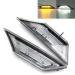 New LED Car Transparent Side Marker Lights Turn Signal Corner Parking Lamp for Honda Civic 10 16-18