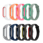 New Bakeey Replacement Argyle Design Silicone Watch Band for Smart Watch Band Xiaomi Mi3