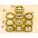 New Bread Squishy Green Tea Toast 8.5*6*1CM Cute Animal Cartoon Squeeze Toys Gift Collection Packaging