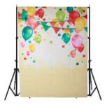 New 5x7FT Vinyl Colorful Balloon Photography Backdrop Background Studio Prop
