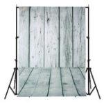 New 5x7FT Vinyl Pale Wood Floor Wall Photography Backdrop Background Studio Prop