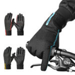 New CoolChange Cycling Gloves Winter Thermal Windproof Full Finger Anti-Slip Touch Screen Bike Gloves
