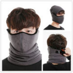 New Winter Outdoor Cycling Bicycle Ski Beanie Hat Face Mask