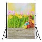 New 3x5FT Vinyl Spring Flower Bracket Photography Backdrop Background Studio Prop