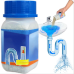 New NEW 268g Super Powerful Sink & Drain Cleaner Powder Kitchen Toilet Bathroom