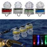 New ZANLURE 1PC LED Deep Sea Diamond Night Fishing Lamp Underwater Mini Transparent Attracting Light