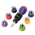 New WORKPRO 38 in 1 Multifunction Screwdrivers Kit Double Speed Ratchet Screwdriver DIY Repair Tool