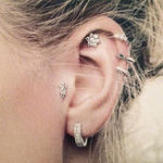 New 6pcs Bohemian Set of Ear Stud Earrings Tassel Flower Earring