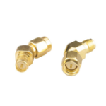 New 2pcs RJXHOBBY SMA Male to RP-SMA Female 45 Degree Antenna Adapter Connector For RX5808 Fatshark
